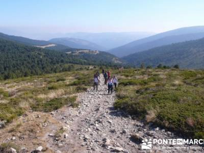 Travesía por la Sierra de la Maliciosa - Senderismo Madrid; senderismo urbano